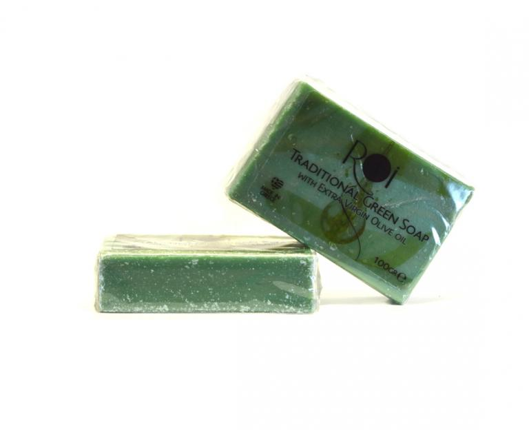 Traditional Green Soap 100g